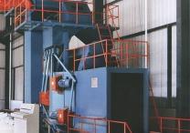 H型钢结构抛丸机