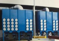 大型滤筒式除尘器